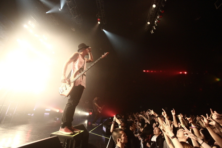 Pay money To my Pain @ Zepp Tokyo