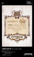 韓国のイベント「CITYBREAK」に、locofrank・YELLOW MONSTERS・COCOBATが出演決定