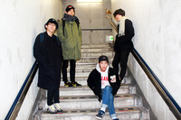 Yogee New Waves×Homecomings、共同企画「NIGHT OF PAPERTOWN」開催決定 - Yogee New Waves