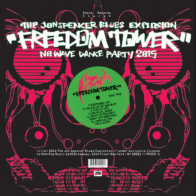 The Jon Spencer Blues Explosion、新ビデオ公開!