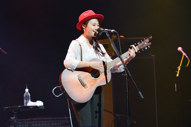 EX THEATER TV presents n・g・g・f vol.2 ~new guitar girls fes.~@EX THEATER ROPPONGI - 小園美樹