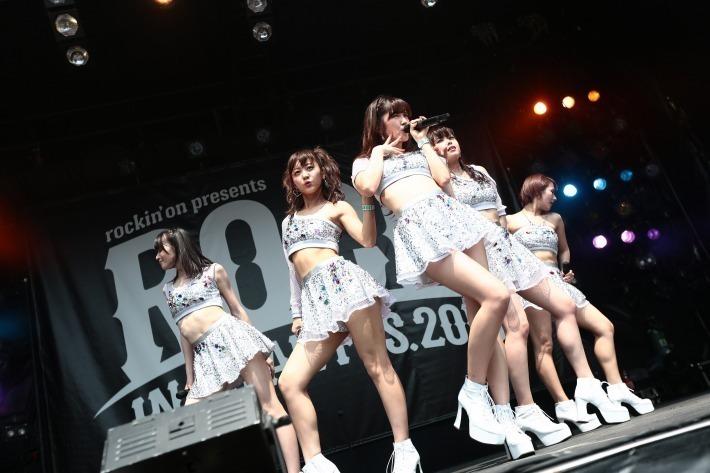 ℃-ute | ROCK IN JAPAN FESTIVAL 2015 | クイックレポート