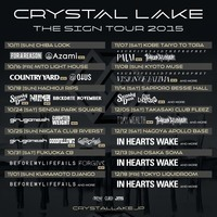 Crystal Lake、全国ツアーゲストにCOUNTRY YARD、NUMBら追加