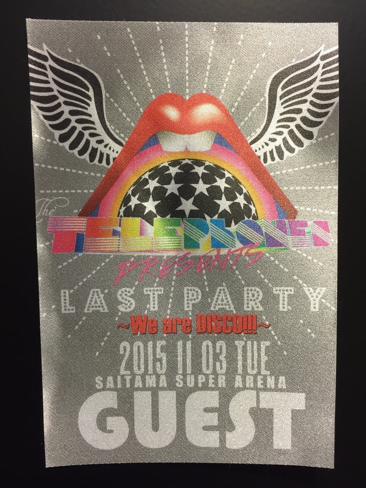 the telephones、Last Partyを駆け抜ける