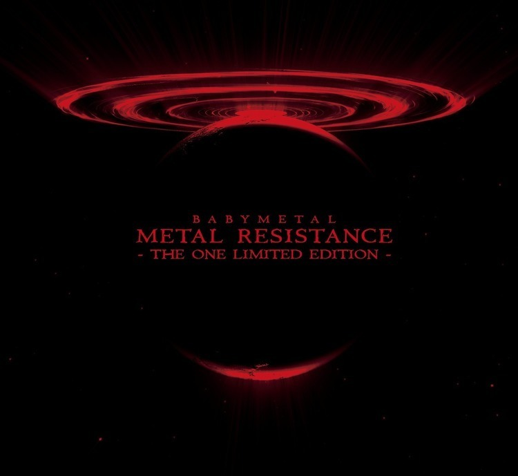 BABYMETAL、New AL詳細&新ビジュアルを解禁DEATH! - 『METAL RESISTANCE - THE ONE LIMITED EDITION -』