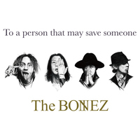 The BONEZ、新作『To a person that may save someone』詳細&ジャケット発表 - 『To a person that may save someone』3/23発売