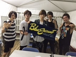 SUNSET STAGE大トリ、ブルエン with BIGMAMA金井!