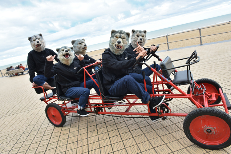 MAN WITH A MISSION、見どころ満載の映像作品『狼大全集Ⅳ』詳細発表!
