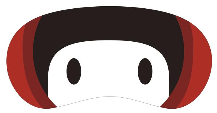 YUKIのキャラクターゆきんこの目元アップ