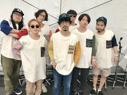 Gotch & The Good New Times、SUNSET STAGE出演直前のオフショット!