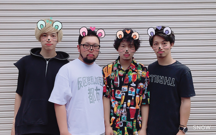KNOCK OUT MONKEY、開催中のツアーゲストにNUBO、リズミック、BUZZ THE BEARS追加 - Rhythmic Toy World