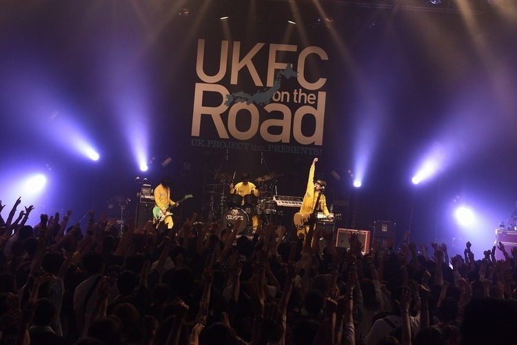 「UKFC on the Road 2017」/新木場STUDIO COAST - POLYSICS Photo by 河本悠貴