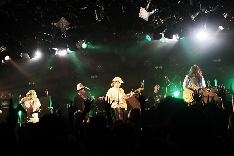 HYUKOH(ヒョゴ) feat. never young beach @ 渋谷 CLUB QUATTRO