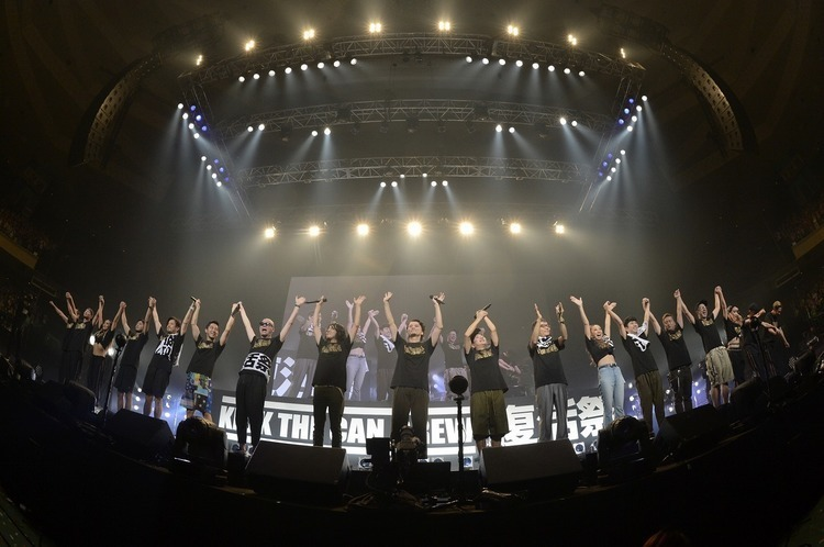 KICK THE CAN CREW 「復活祭」/日本武道館 - All photo by 岸田哲平&中河原理英