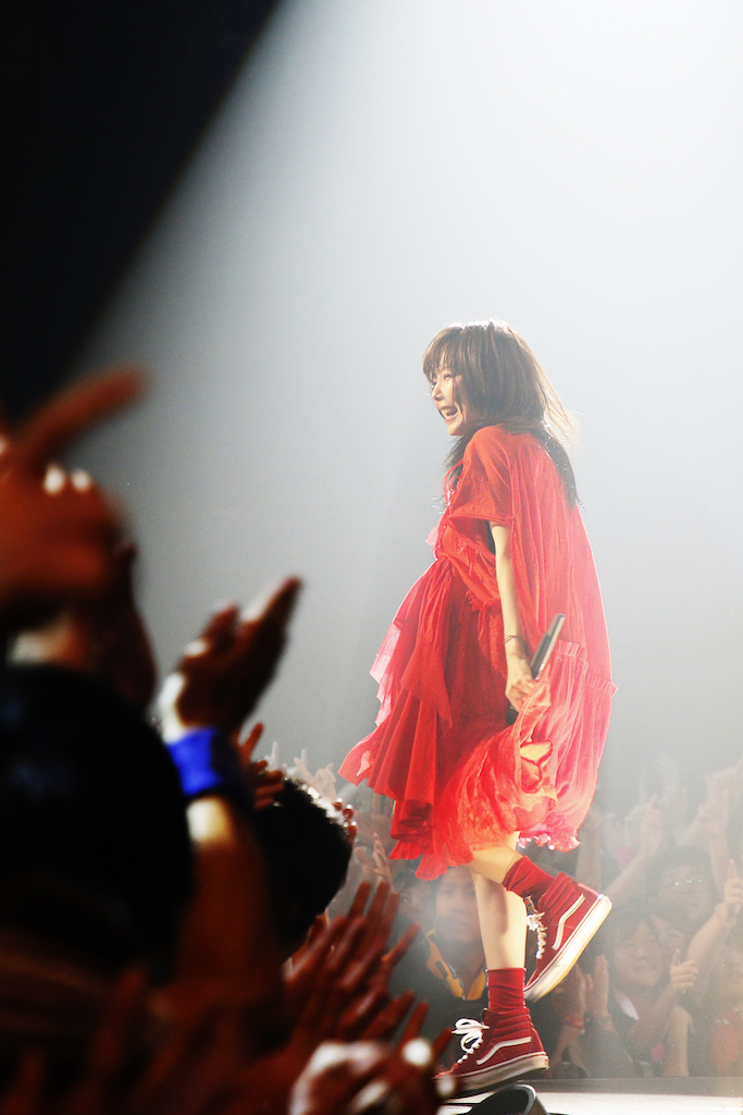 aiko/Zepp Tokyo - pic by 岡田貴之(9月7日公演)