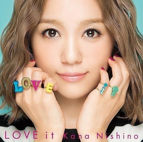 アルバム『LOVE it』の西野カナ