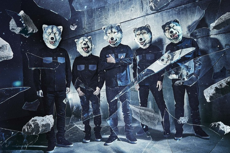 MAN WITH A MISSION×Candy StripperコラボTシャツ、たまアリ公演より販売決定