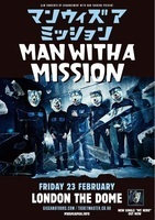 MAN WITH A MISSION、2018年にロンドン単独公演が決定