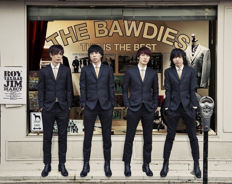 THE BAWDIES、全国ツアー全日程発表。ファイナルは3度目の日本武道館