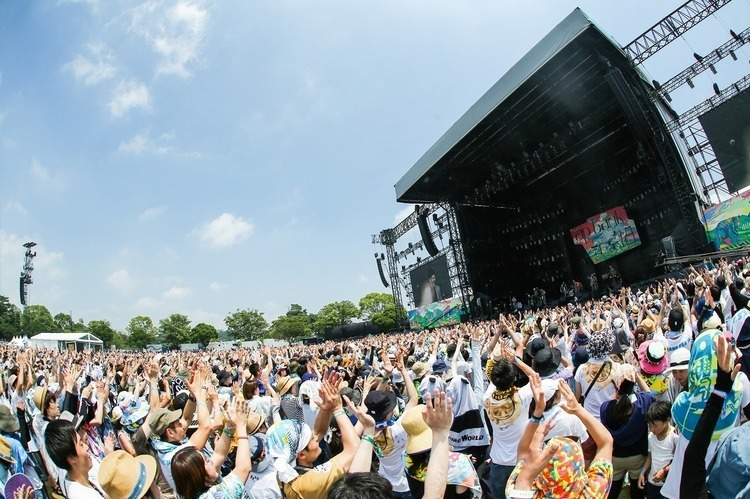 「ap bank fes '18」のインタビュー&ライブ映像をダイジェストで無料放送 - 撮影:橋本塁 [SOUND SHOOTER]