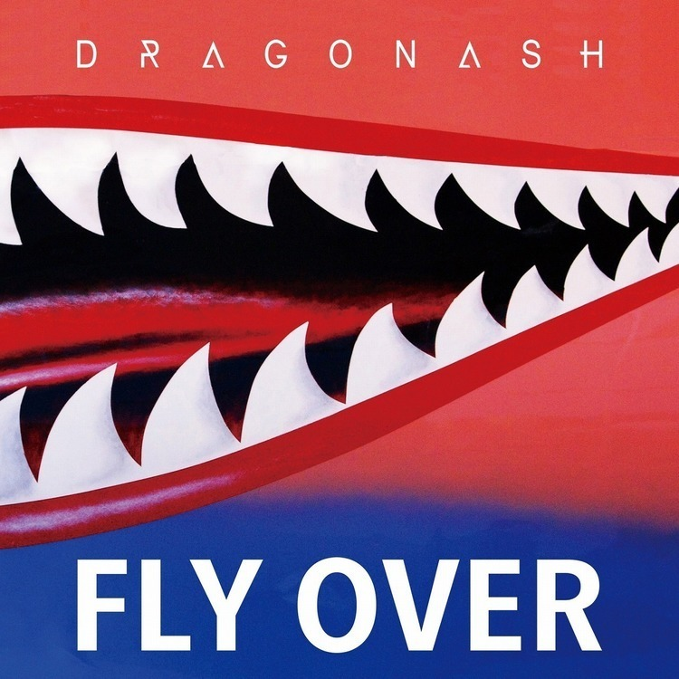 "Dragon Ash、約2年ぶりの新曲""Fly Over""を本日配信リリース - 『Fly Over』配信ジャケット"