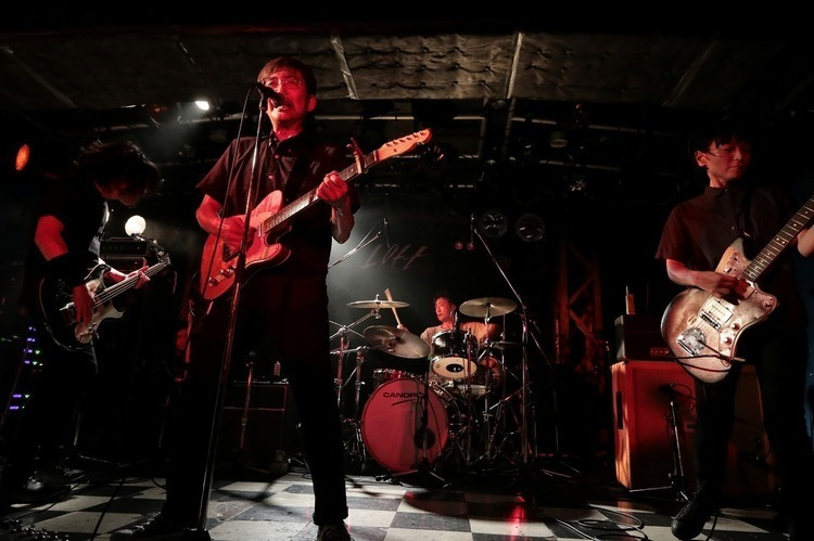 NUMBER GIRL/新宿LOFT - All photo by 菊池茂夫