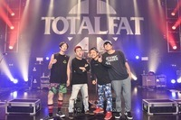 TOTALFAT/新木場STUDIO COAST - All photo by AZUSA TAKADA