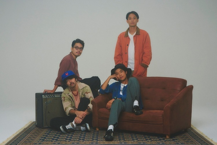 Yogee New Waves、12/4開催の自主企画イベントにSuchmosが出演 - Yogee New Waves