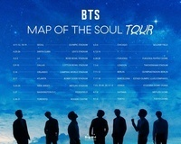 BTS、ワールドツアー「BTS MAP OF THE SOUL TOUR」を開催決定。日本では4都市をまわる - Photo by Big Hit Entertainment