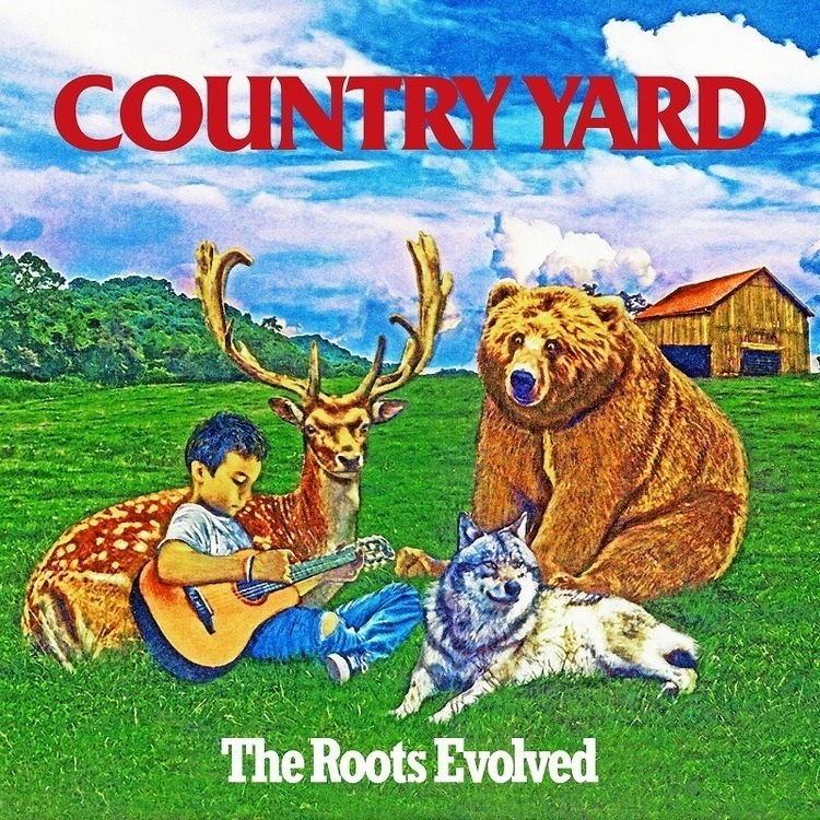 COUNTRY YARD、3月にAL『The Roots Evolved』発売。リリースツアーゲスト第1弾も発表 - 『The Roots Evolved』3月4日発売