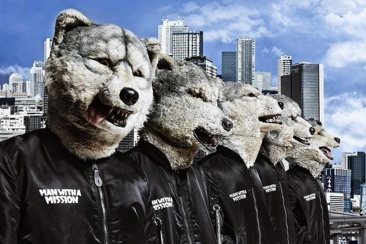 "MAN WITH A MISSION、新曲""Telescope""が『王様のブランチ』新テーマソングに決定 - (C)Sony Music Labels"