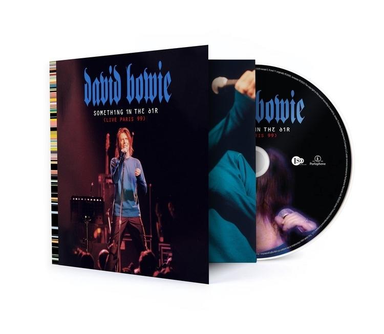 デヴィッド・ボウイ、未発表ライブ盤プロジェクトから第5弾『サムシング・イン・ジ・エアー(ライヴ・パリ 99)』のリリースが決定! - 『サムシング・イン・ジ・エアー(ライヴ・パリ 99)』CD
