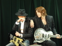 LUNA SEA、SUGIZO&INORAN JAPANに掲載中