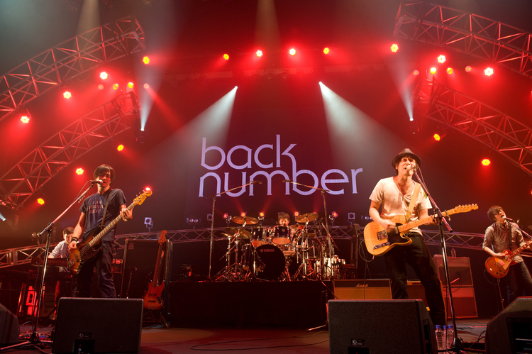 「back number ライブ」の画像検索結果